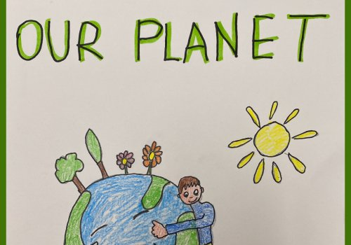 Earth Day - 22nd April 2021: We love our planet!